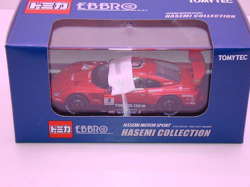 EBBRO HASEMI TOMICA EBBRO GT-R 2009 RD 1 (6)