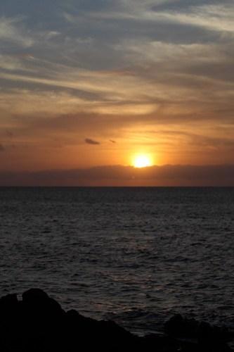 Sunset from Keawakapu Beach