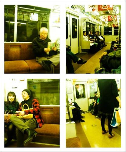 non peak hours train ride