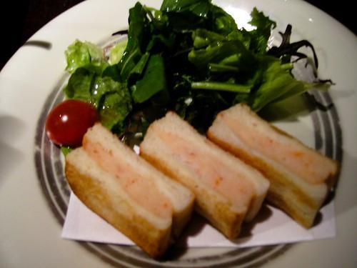 prawn paste sandwich