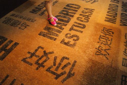 馬德里案例館的地毯