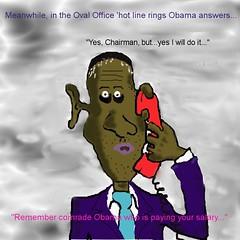 new Manchurian Candidate Obama