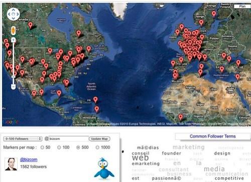 mapmyfollowers.com