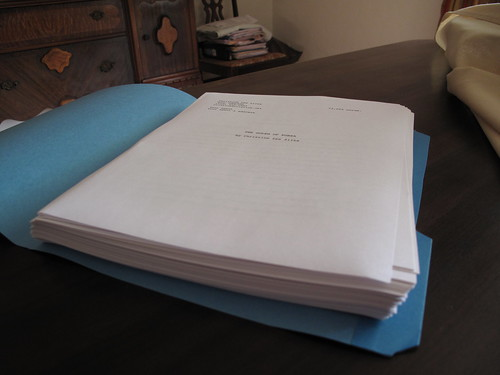 completed first draft of novel