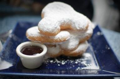 Disnyland New Orleans Mickey beignets