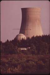 The Trojan Nuclear Plant on the Banks of the Columbia River Is Under Construction by Portland General Electric Environmentalists Strongly Oppose the Project 05/1973