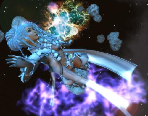 021.  space queen