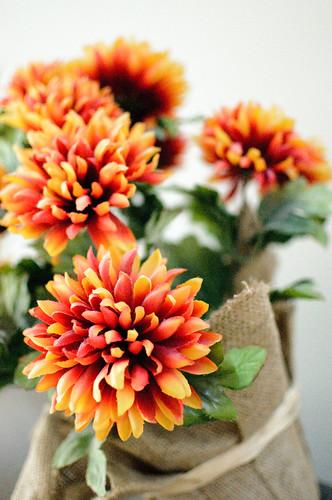 58/365 (Synthetic Orange Flowers)