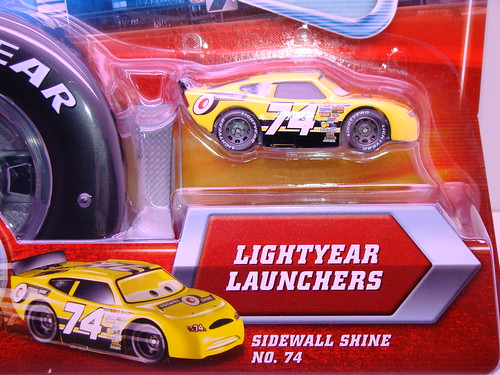 disney CARS sidewall Shine launcher (2)