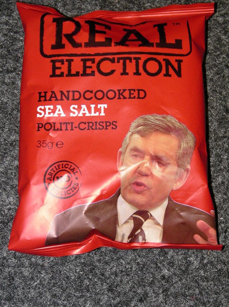 Real Political Crisps-Gordon Brown
