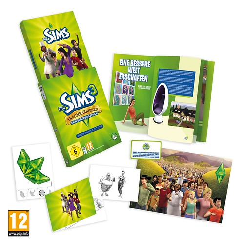 Hi-quality shot of The Sims 3 Ambitions Collector's Edition (Germany)
