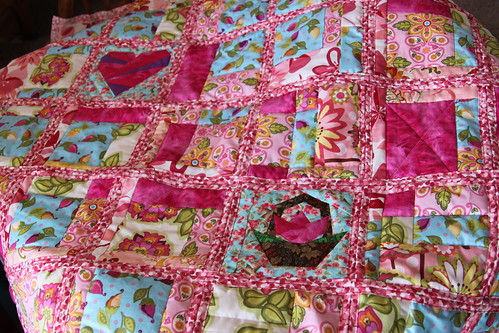 very pink quilt
