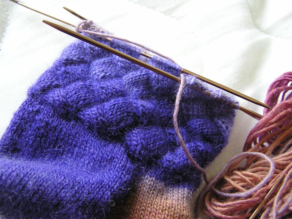 Mochi Entrelac Socks 07