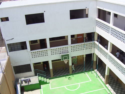 View of Academy quad