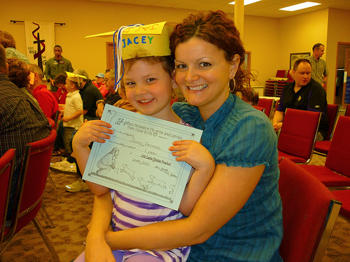 Jacey's Preschool Graduation