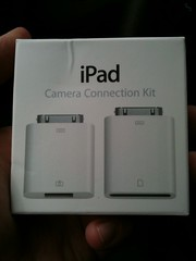 Thanks to @gillianshaw, I finally have an iPad camera kit