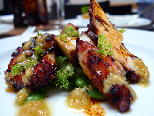 Grilled Octopus at Animal