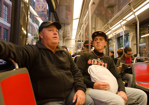 Giants fans on muni