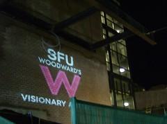SFU WOODWARD'S PROJECTION