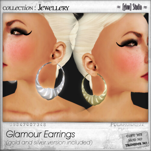 [ glow ] studio - glamour earrings
