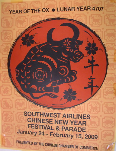 Southwest Airlines Chinese New Year Festival & Parade Year of the Ox