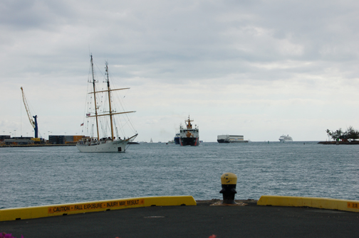ships returning