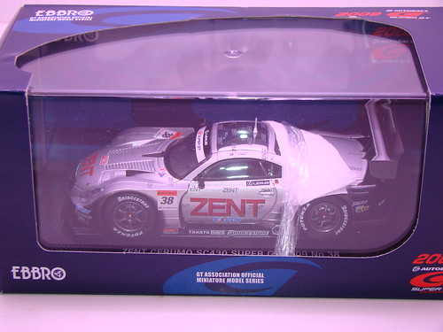 EBBRO ZENT CERUMO SC430 SUPER GT 2009 NO (7)