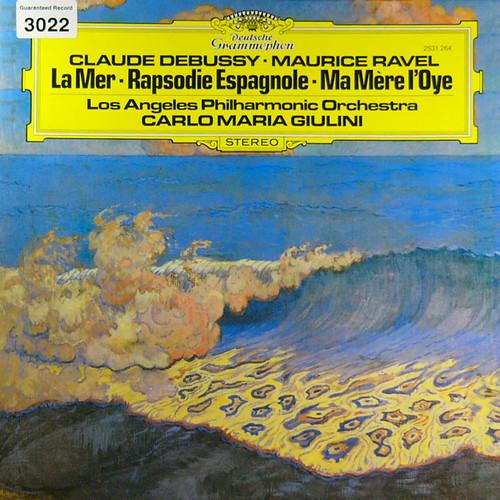 ドビュッシーの海 カルロ・マリア・ジュリーニ指揮のDGGオリジナル盤のジャケット・デザイン・コレクション