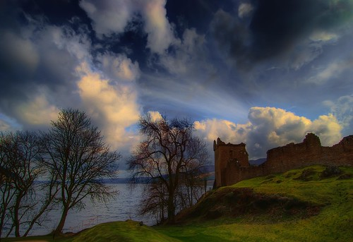 Castle Urquhart Mood by Mike Pratt