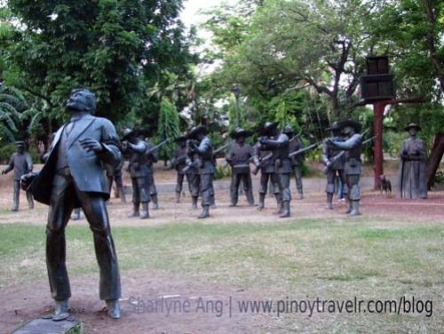 Rizal's Death in Luneta Park