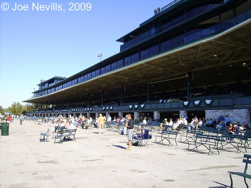 Keeneland Race Course, Fall 2009 - Before