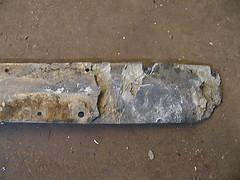 Corrosion - Rudder Lock