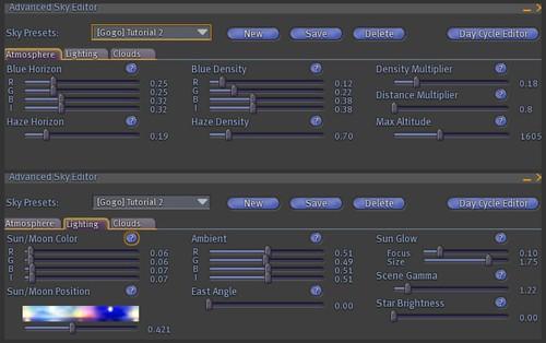 Gogo's Updated Windlight tutorial (3/6)
