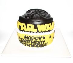 Darth Vader Birthday Cake!