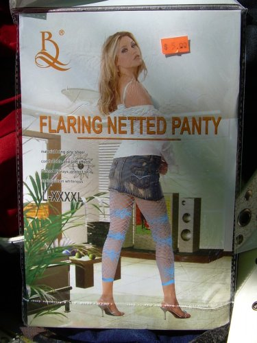 Flaring Netted Panty