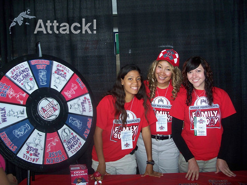 Promotional Staff: Angels Family Sunday