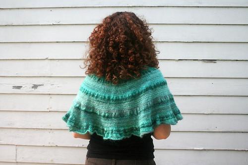 knitted :: handspun Citron