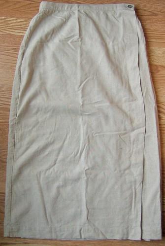 original linen skirt