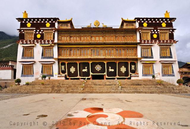 Semphaling Monastery, Chatreng/Xiangcheng, Sichuan, China.