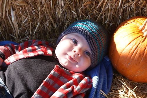 Jack At Pumpkin Patch