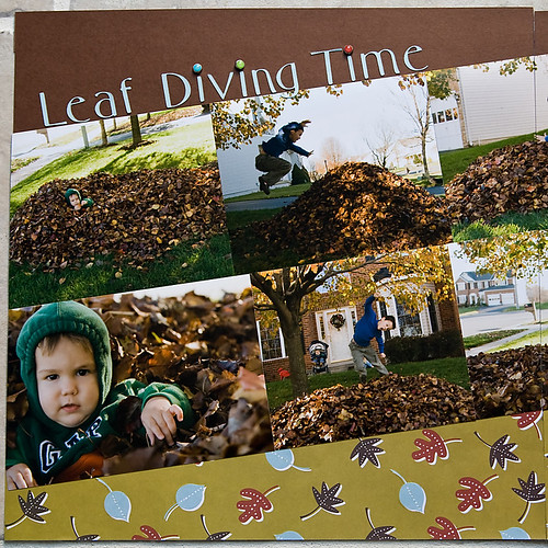 leaf diving left