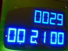 2010 VANCOUVER WINTER OLYMPIC GAMES | COUNTDOWN CLOCK WITH THE WRONG TIME