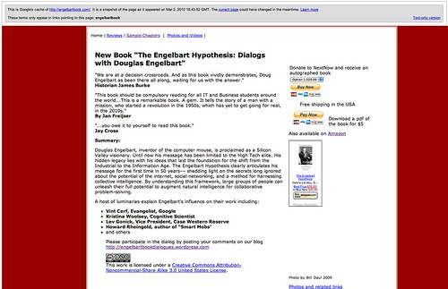 Engelbart Hypothesis Controversy