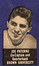 1950 Topps Felt Backs Joe Paterno