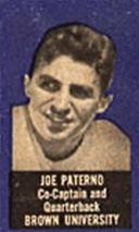 1950 Topps Felt Backs Joe Paterno