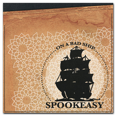 Album Cover Design for Spookeasy