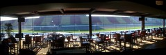 Panorama shot from the suite I'm working out of at @MISpeedway