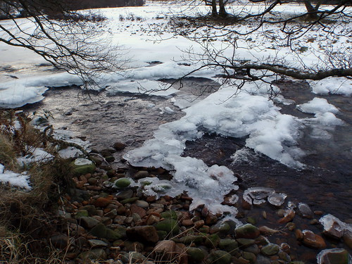 Icey River Nevis by HighlandSC.