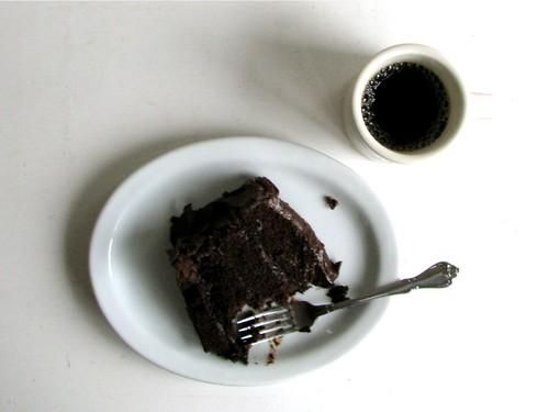 chocolate cake breakfast