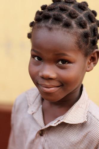 Girl in Lomé, Togo